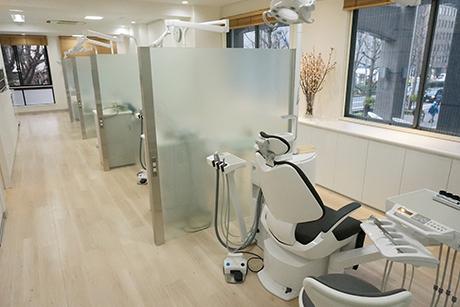 川崎市京急川崎駅徒歩5分の歯医者 いしかわ矯正歯科のユニット